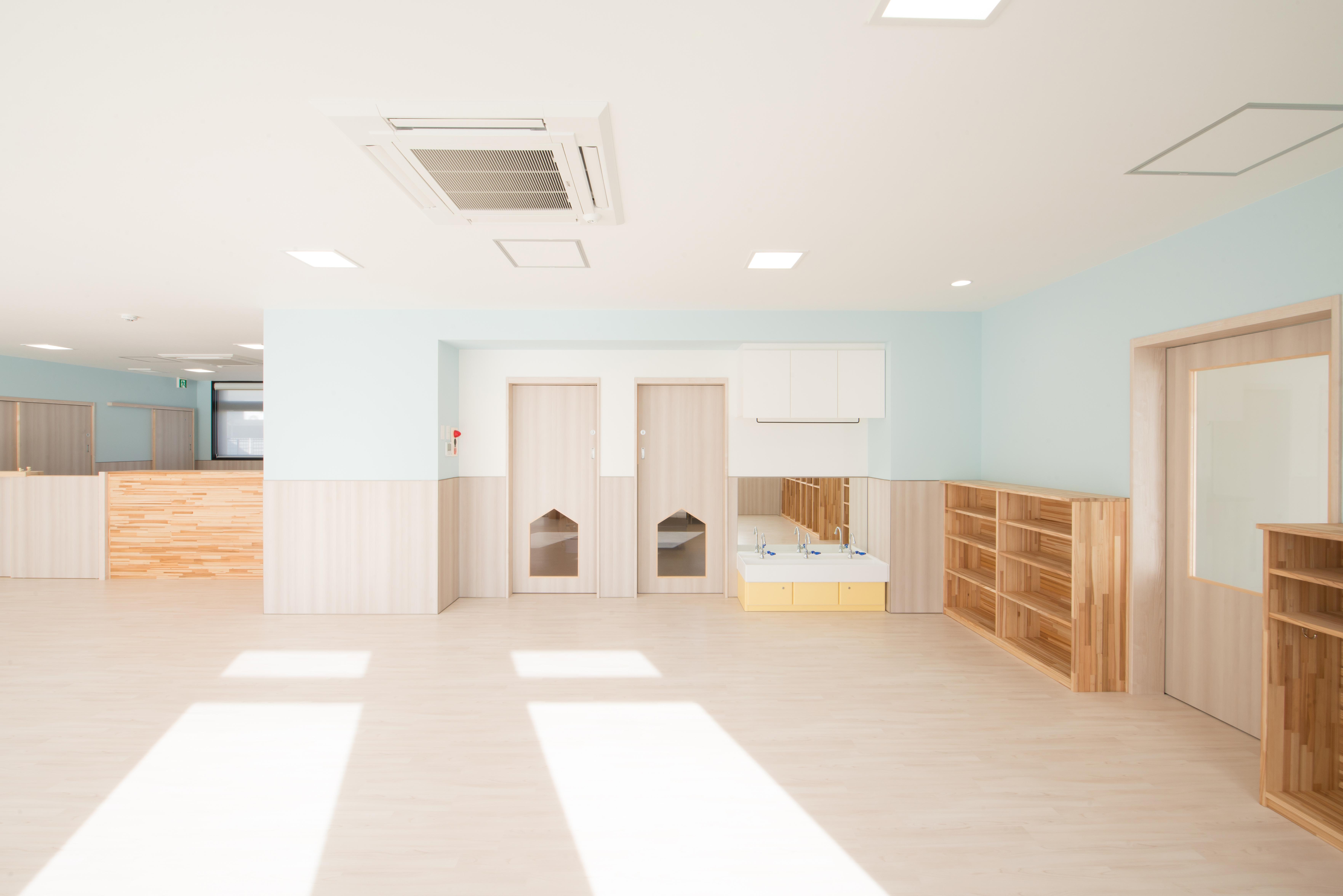 0歳児の保育室
